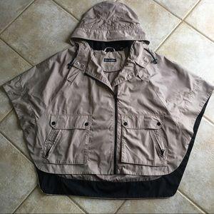 Steve Madden Rain Cape Poncho Jacket